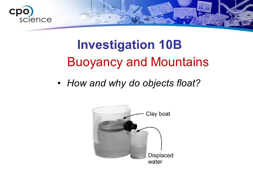 Buoyancy and Mountains