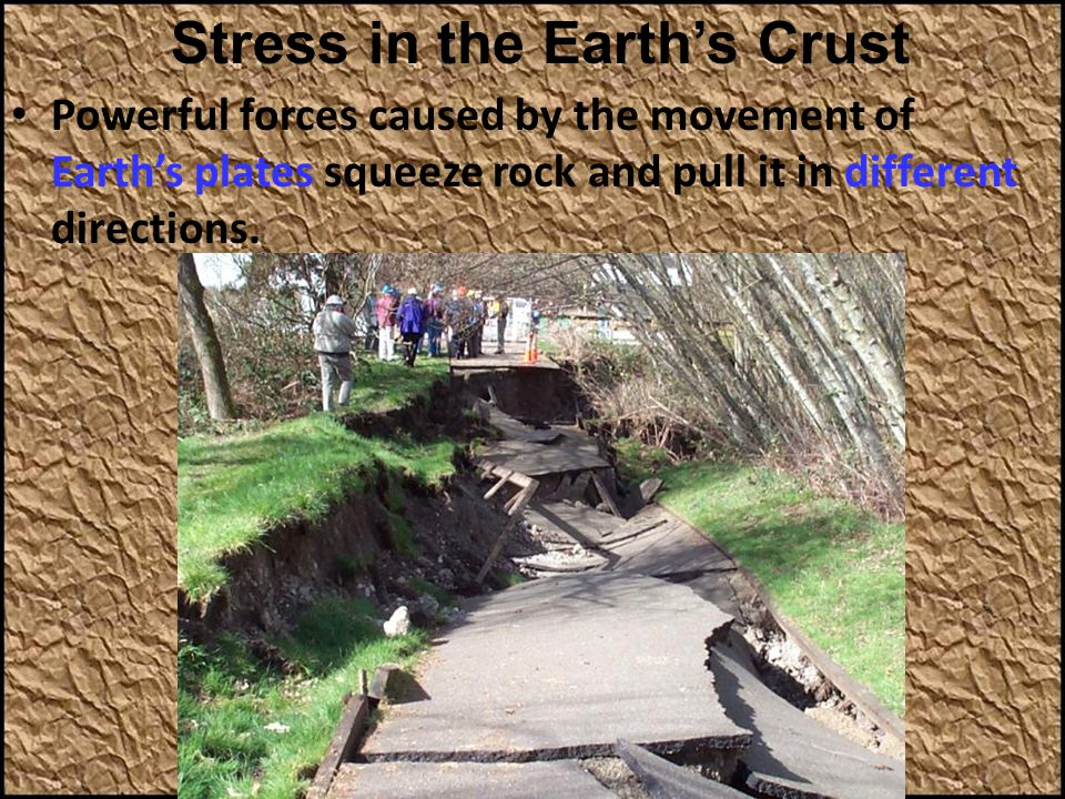 Stress in the Earth's Crust