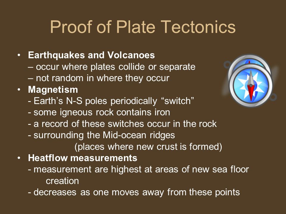 Proof of Plate Tectonics