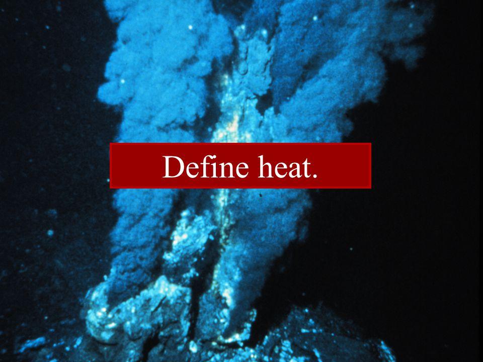 Define heat.