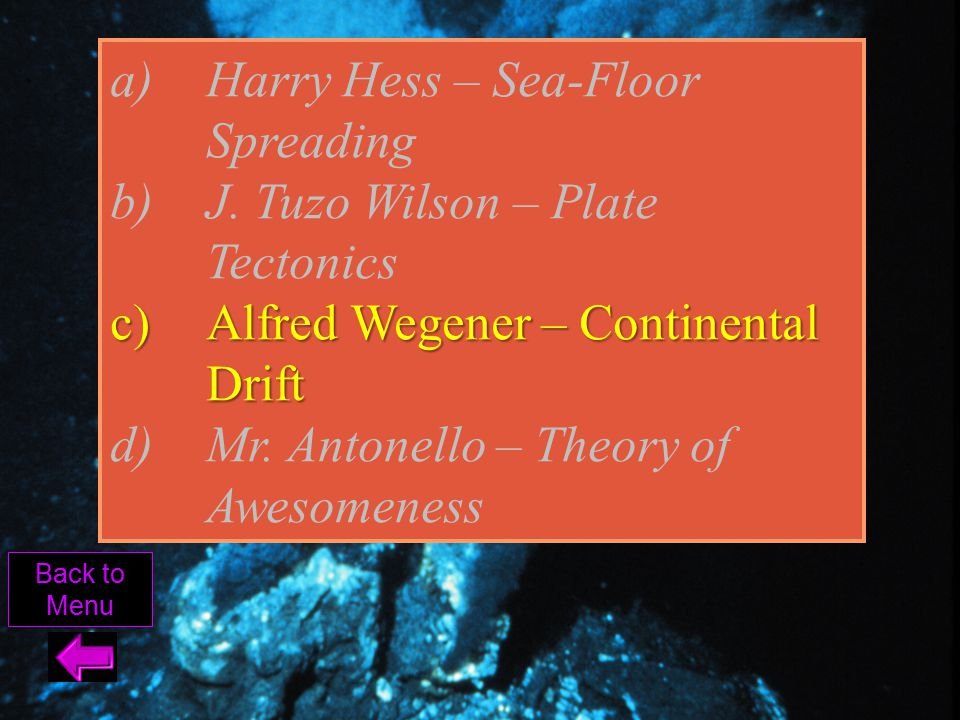Tectonic Jeopardy Ppt Video Online Download