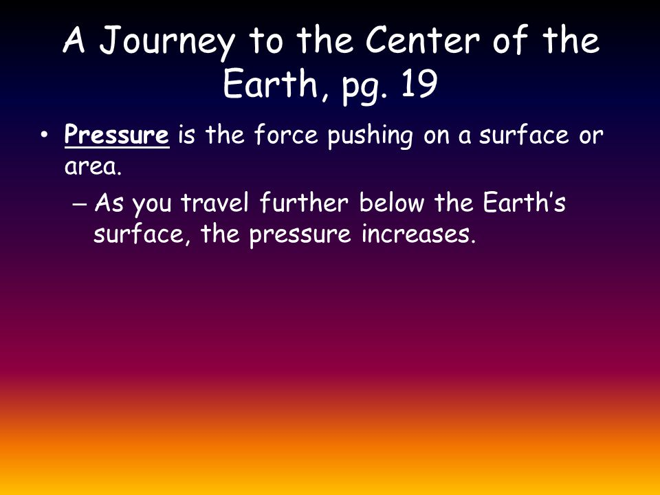 A Journey to the Center of the Earth, pg. 19