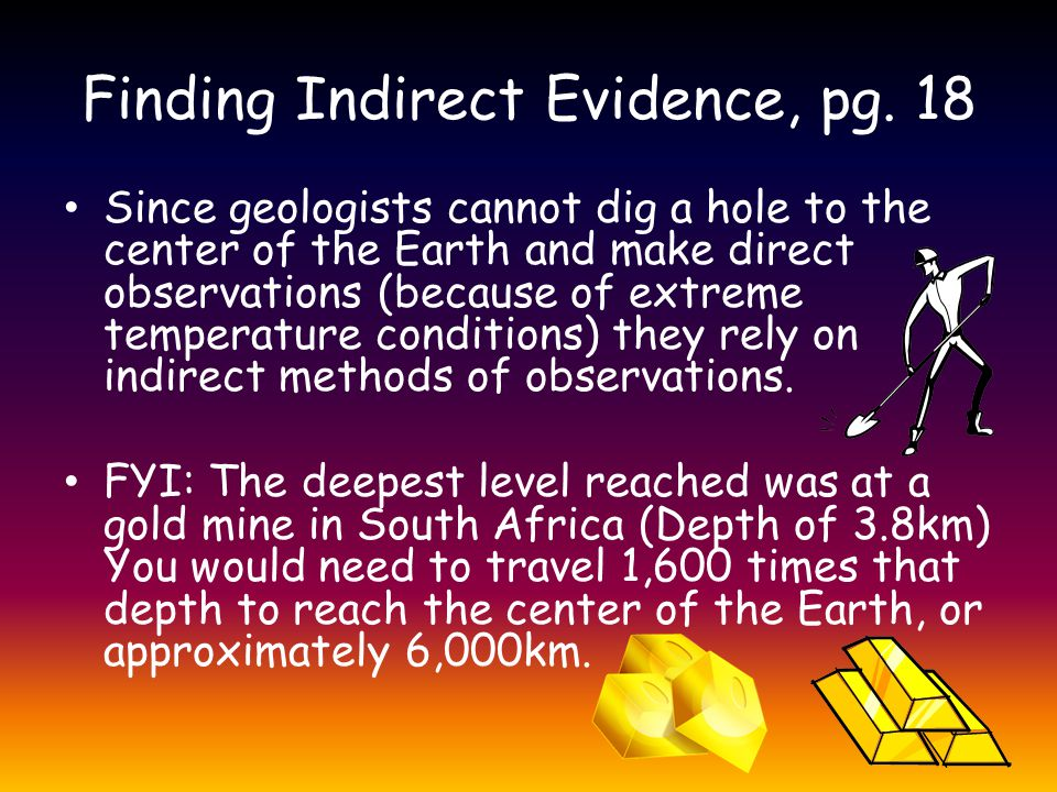 Finding Indirect Evidence, pg. 18