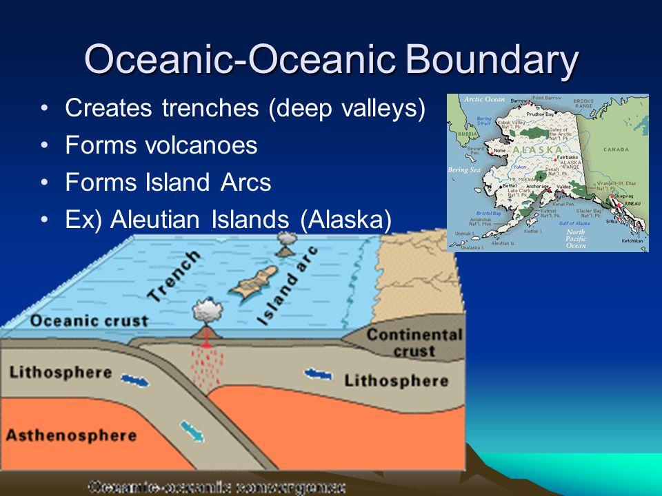 Oceanic-Oceanic Boundary