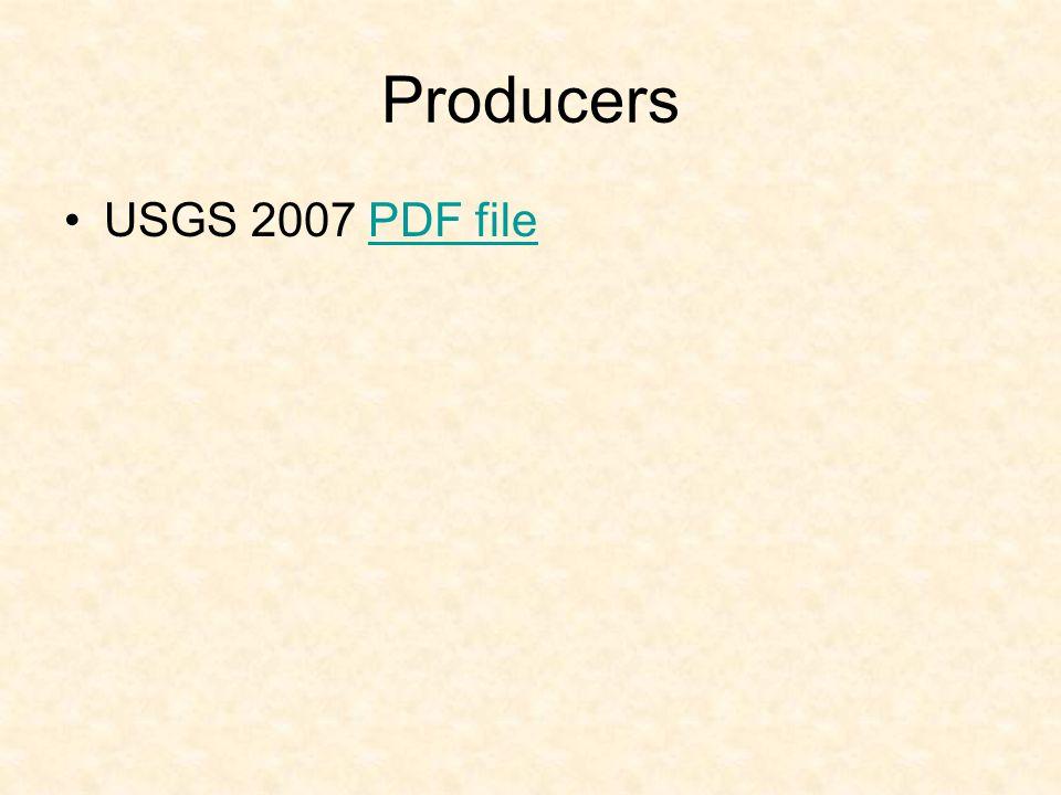 Producers USGS 2007 PDF file