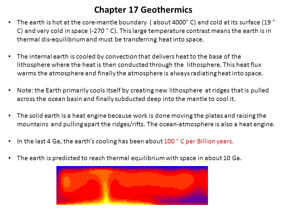 Chapter 17 Geothermics