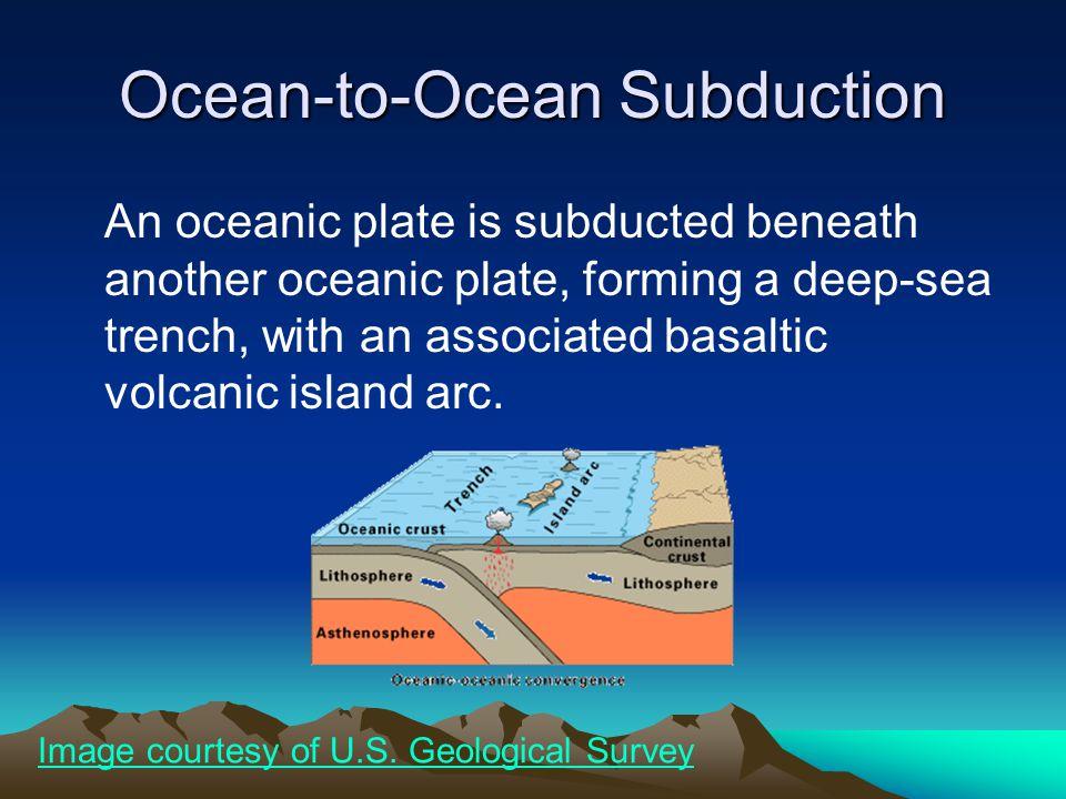 Ocean-to-Ocean Subduction