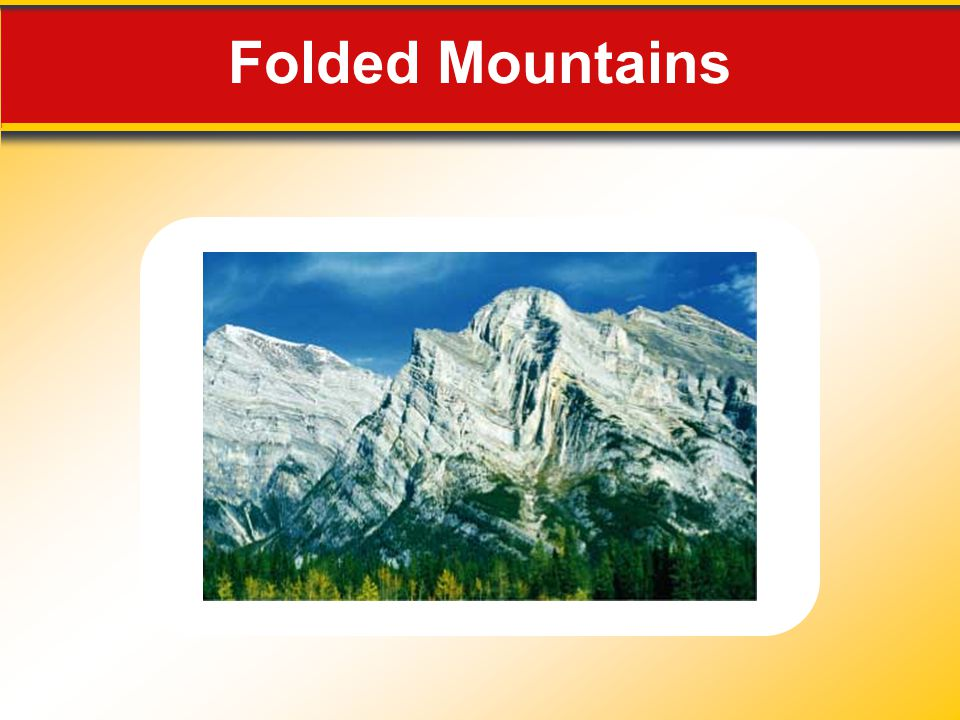 Folded Mountains Makes no sense without caption in book