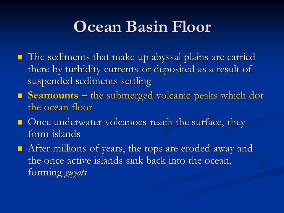 Ocean Basin Floor