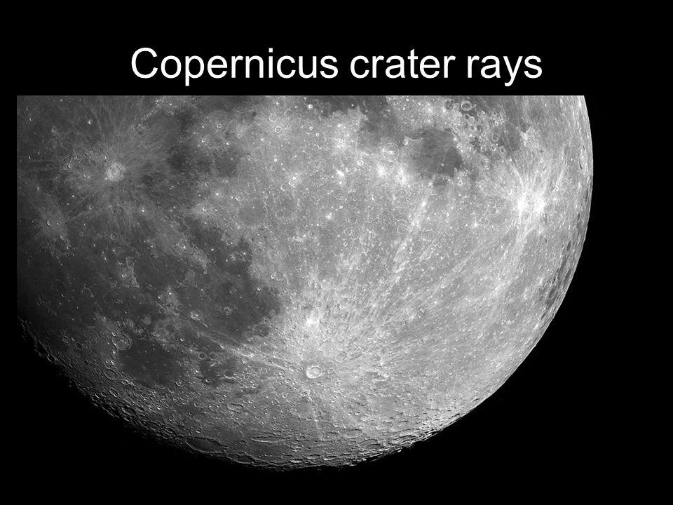 Copernicus crater rays