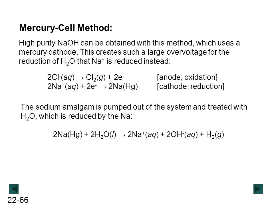 Mercury-Cell Method: