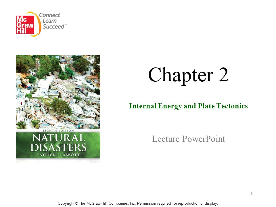 Chapter 2 Internal Energy and Plate Tectonics Lecture PowerPoint
