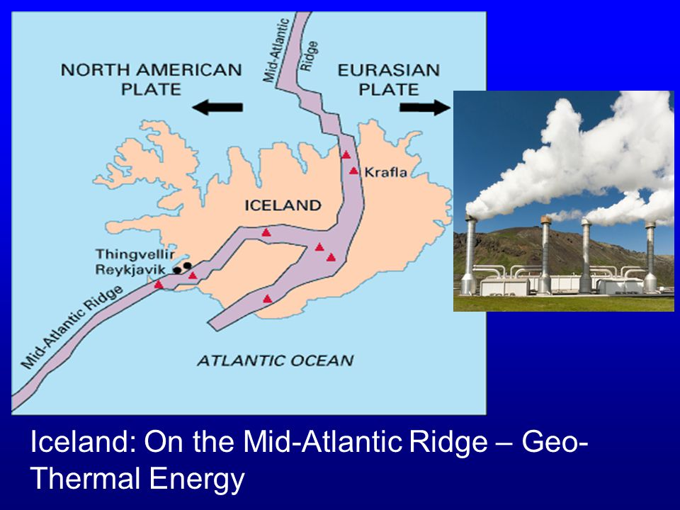 Iceland: On the Mid-Atlantic Ridge – Geo-Thermal Energy