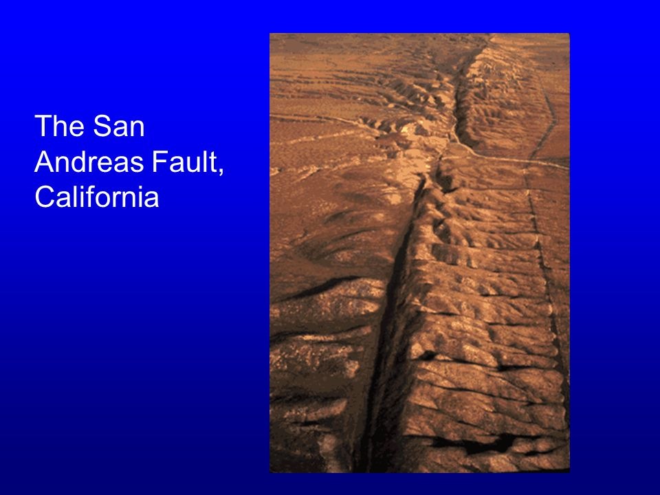 The San Andreas Fault, California
