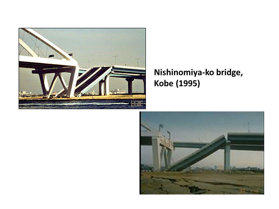 Nishinomiya-ko bridge, Kobe (1995)