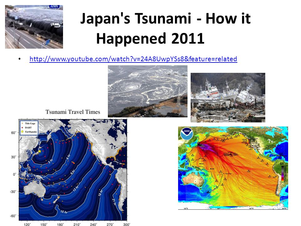 Japan s Tsunami - How it Happened 2011