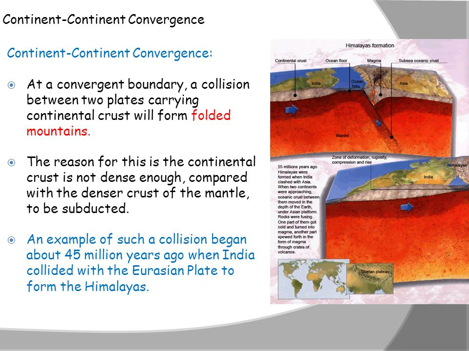 Continent-Continent Convergence
