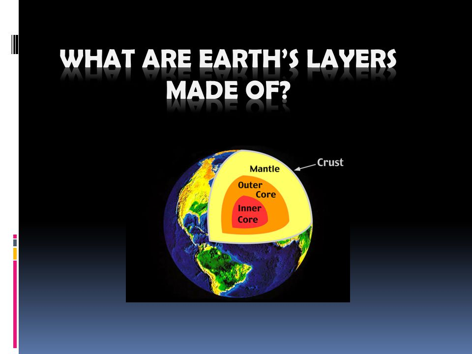 What Are Earth's Layers Made Of