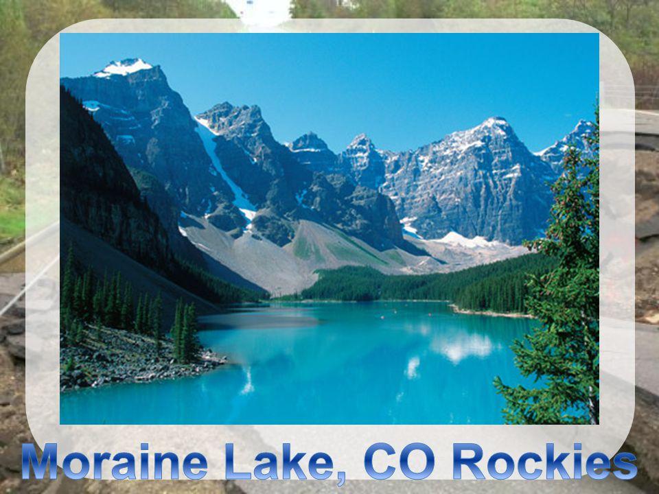 Moraine Lake, CO Rockies
