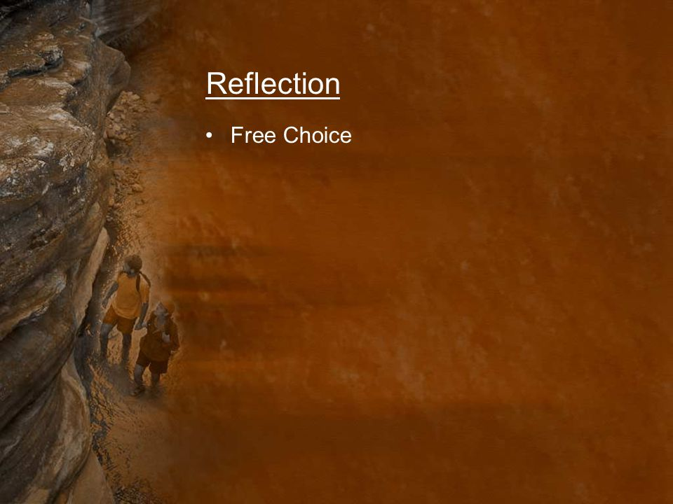 Reflection Free Choice