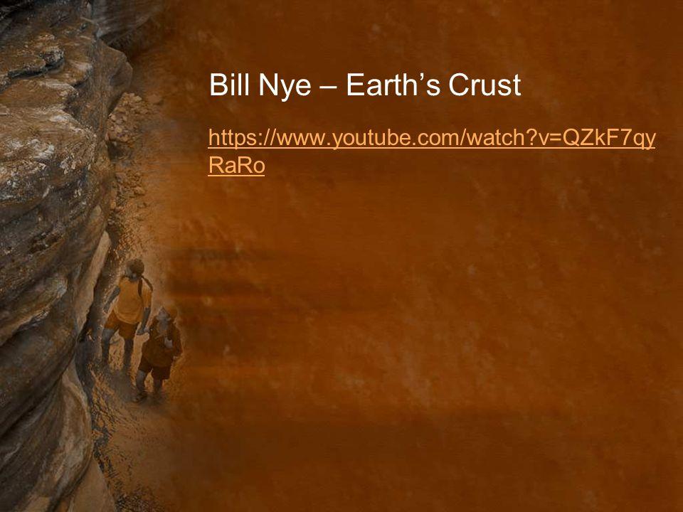 Bill Nye – Earth's Crust