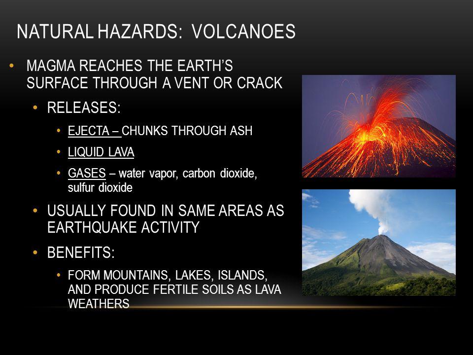 Natural Hazards: Volcanoes