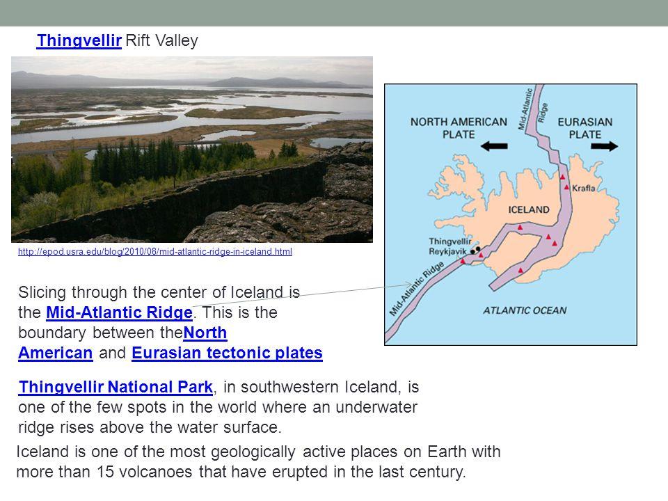 Thingvellir Rift Valley