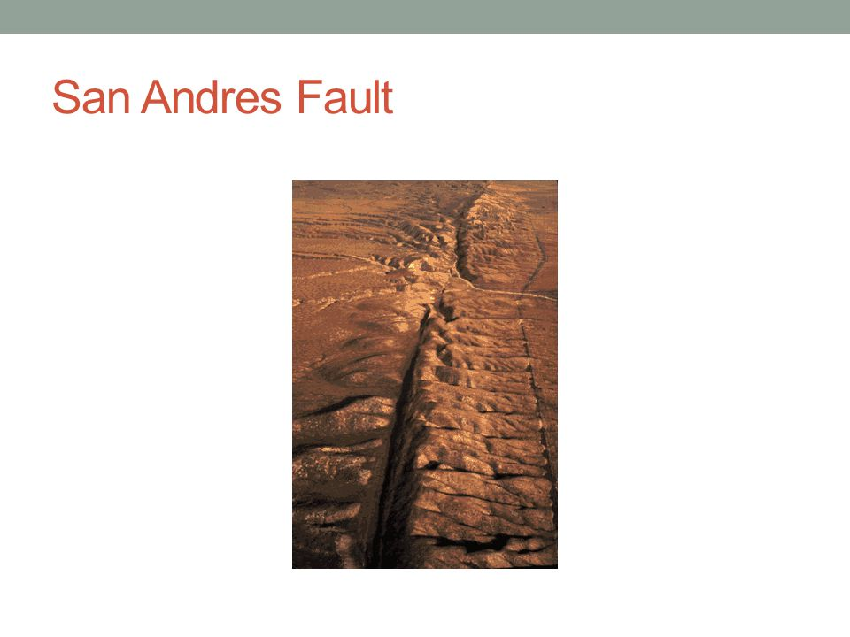 San Andres Fault