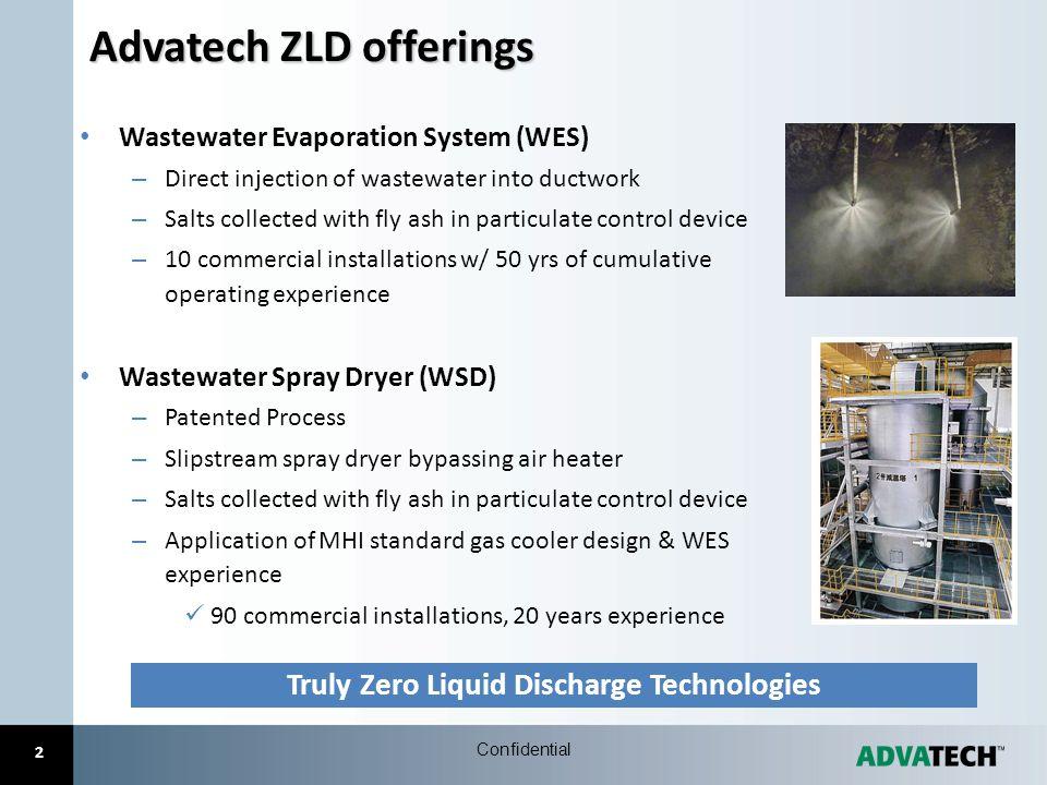 Advatech ZLD offerings