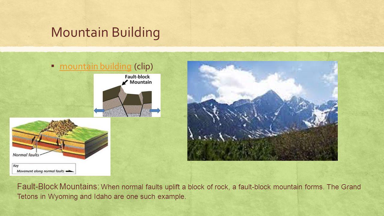 Mountain Building mountain building (clip)