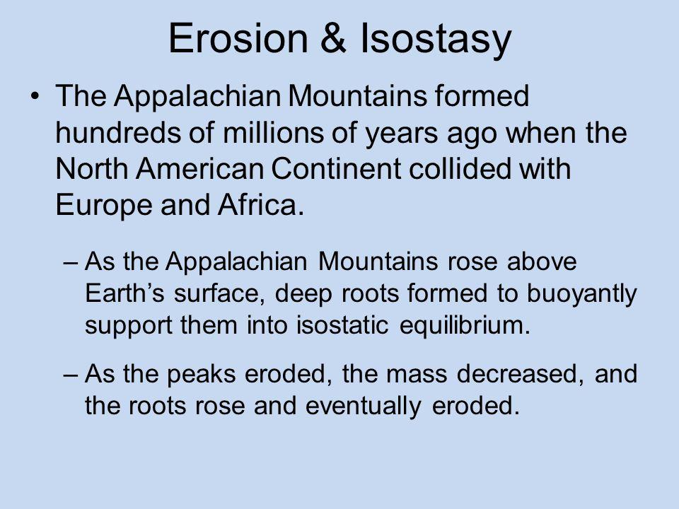 Erosion & Isostasy