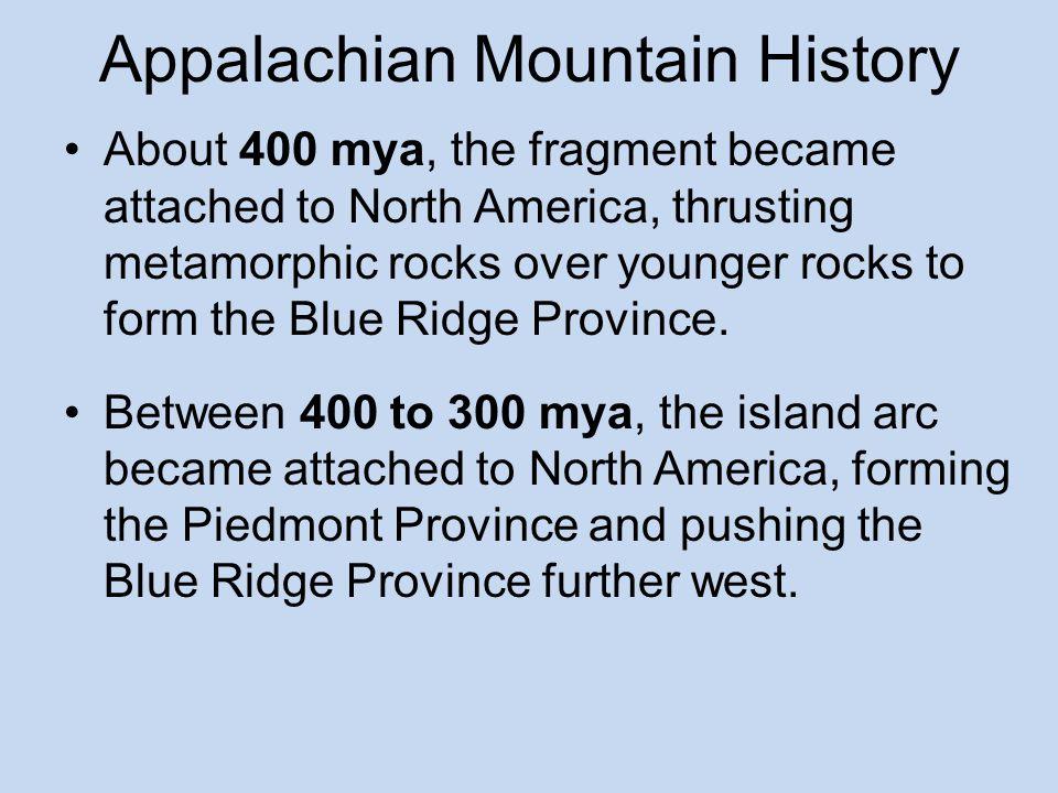 Appalachian Mountain History