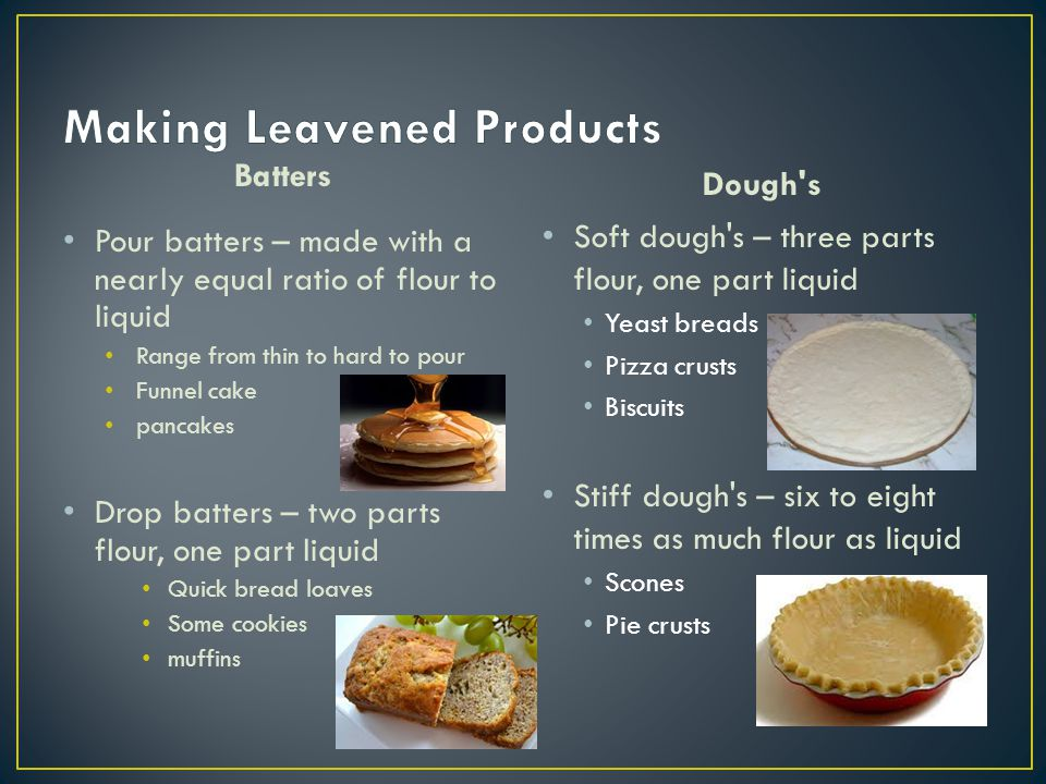 Making Leavened Products