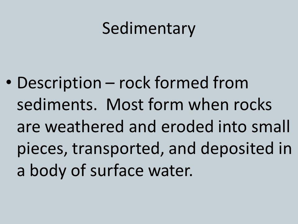 Sedimentary