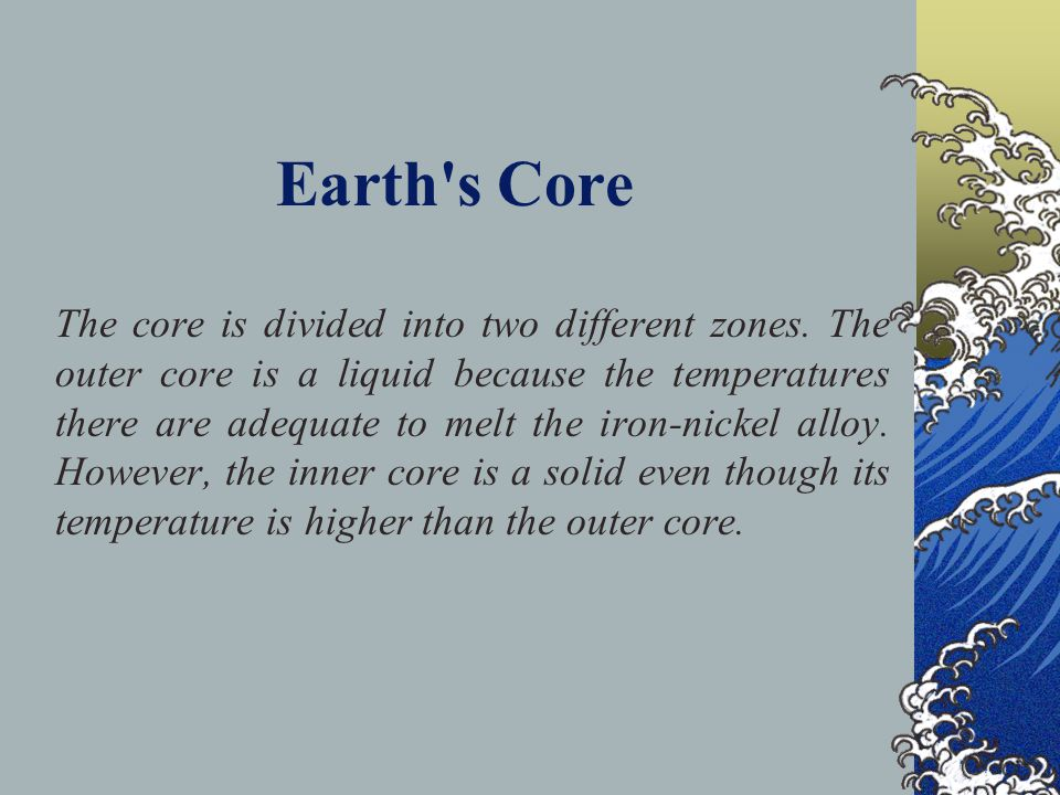 Earth s Core