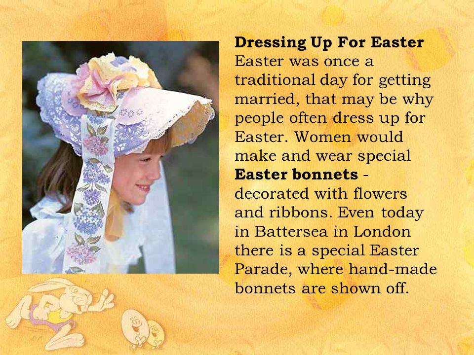 Dressing Up For Easter