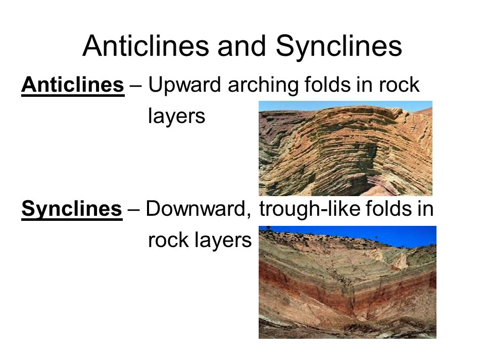 Anticlines and Synclines