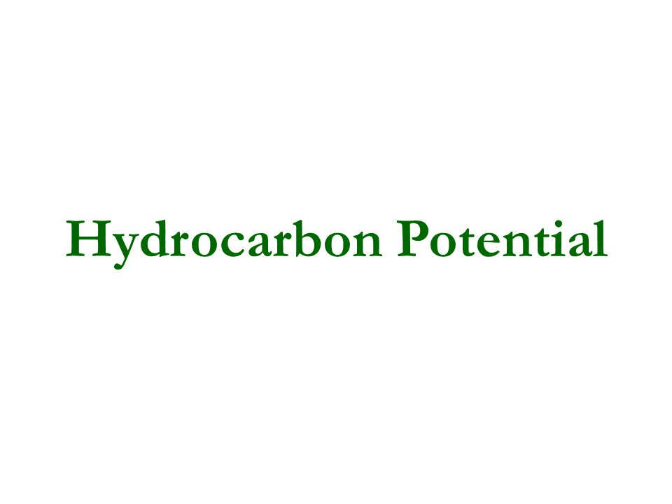 Hydrocarbon Potential