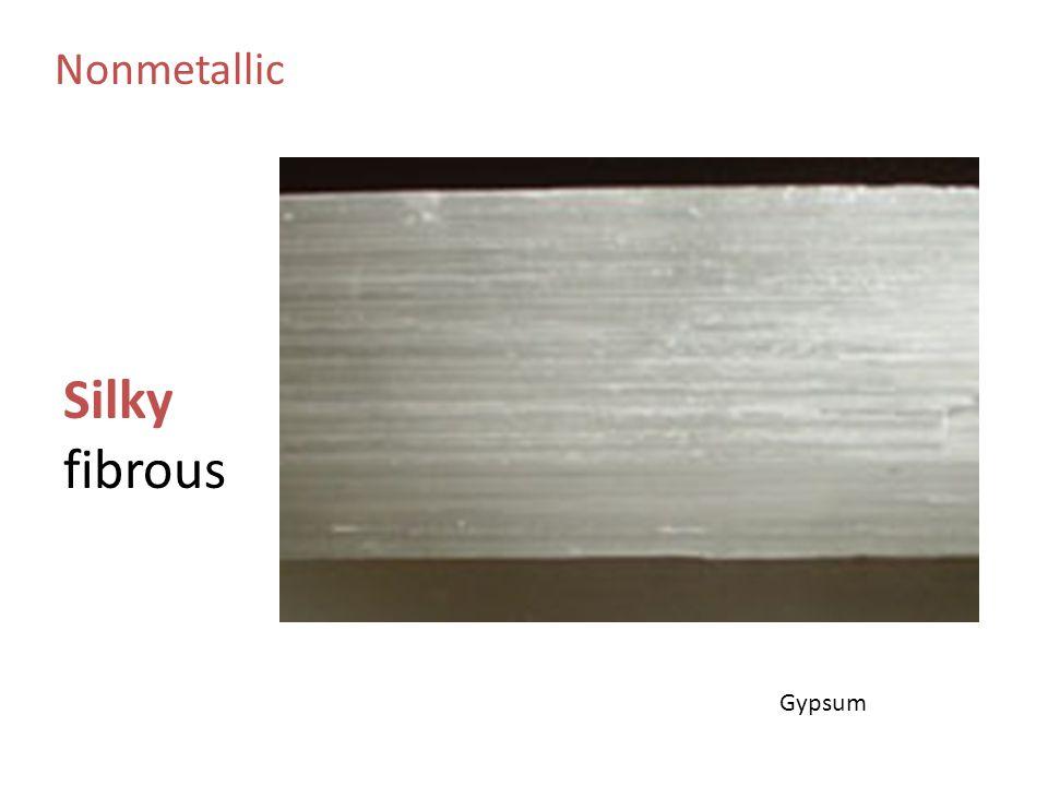 Nonmetallic Silky fibrous Gypsum
