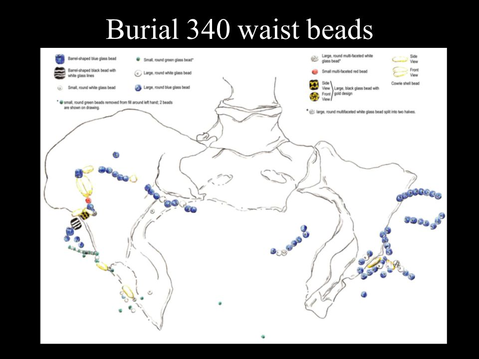 Burial 340 waist beads