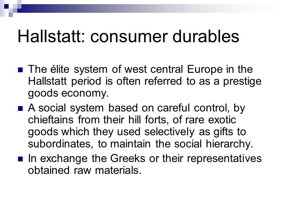 Hallstatt: consumer durables
