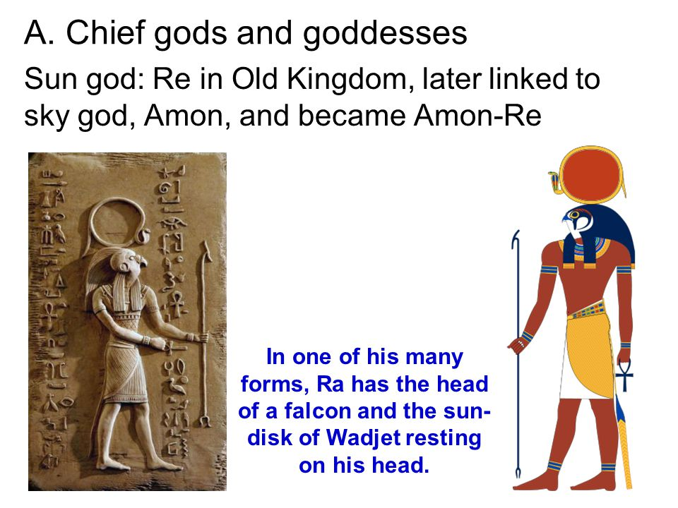 A. Chief gods and goddesses