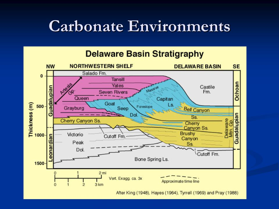 Carbonate Environments