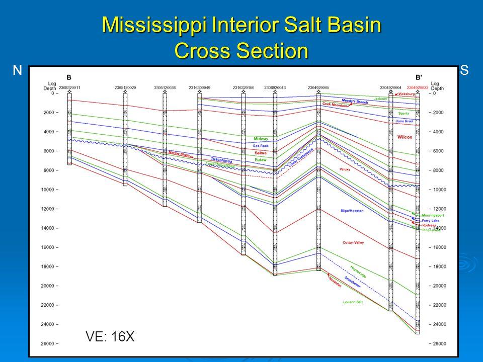 Mississippi Interior Salt Basin Cross Section