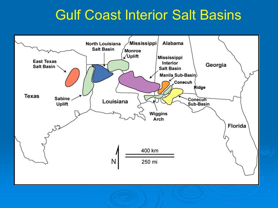 Gulf Coast Interior Salt Basins