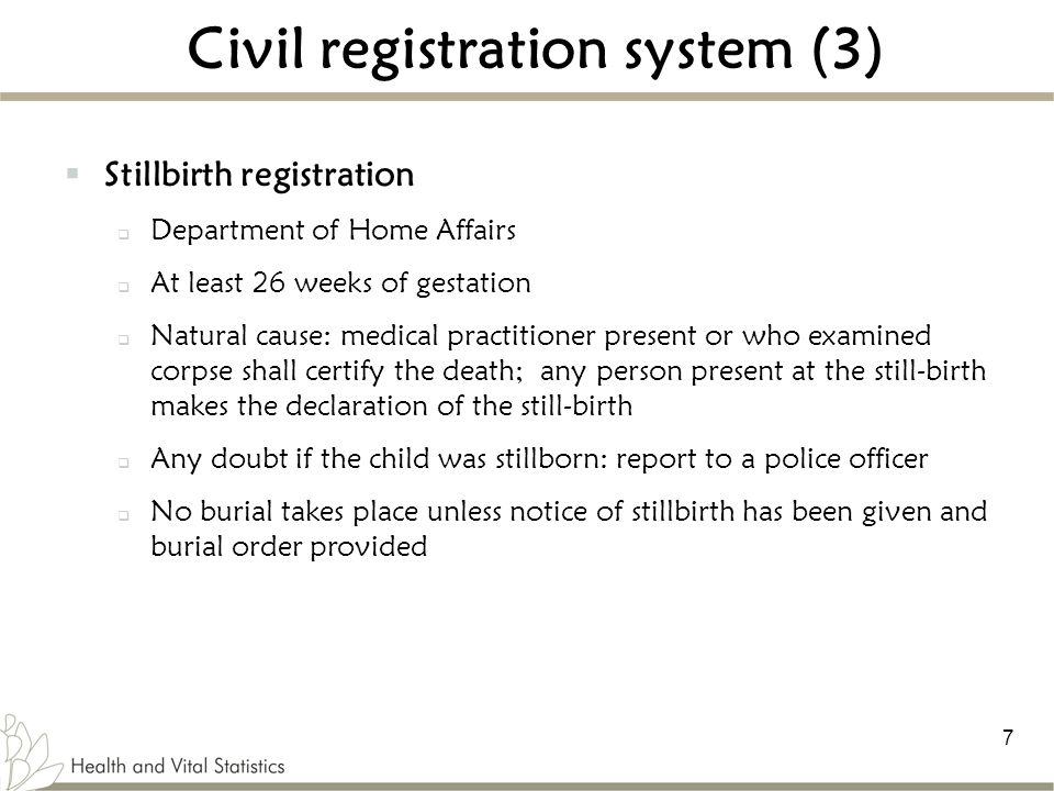 Civil registration system (3)
