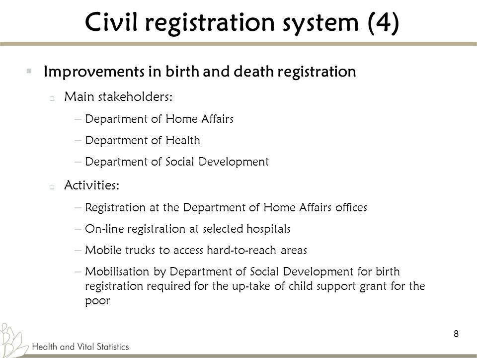 Civil registration system (4)