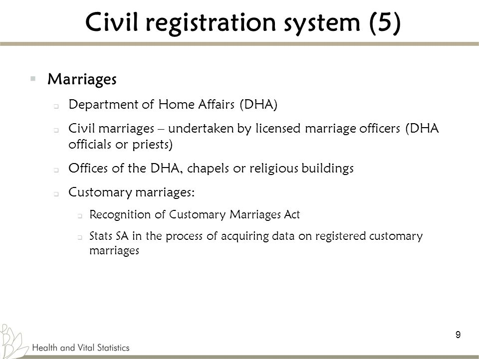 Civil registration system (5)