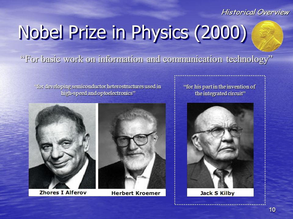 Nobel Prize in Physics (2000)