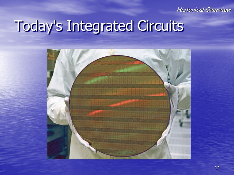 Today s Integrated Circuits